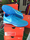 NIKE SCARPE SHOES CALCIO TIEMPOX GENIO II TF TURF AZZURRE POLARIZED BLUE 2017