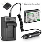 Kastar Battery and Normal Charger Kit for Canon LP-E10 EOS Rebel T3 T5 1200D X70