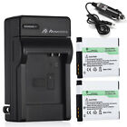1050mAh NB-8L Battery + Charger For Canon PowerShot A2200 A3000 A3100 A3300 IS