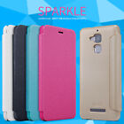 Nillkin Matte Sparkle Flip PU Leather Case Cover For ASUS Zenfone 3 Max ZC520TL
