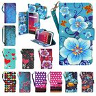 BLU Studio XL LTE Design Phone Case Hybrid PU Leather Wallet Pouch Flip Cover