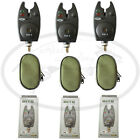 Carp Pike Fishing Bite Alarms VX1 Waterproof With Batteries Supplied NGT Tackle