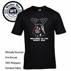 Welcome To The Merry Side T- Shirt Funny Christmas Darth Vader Tee Mens