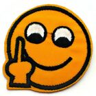 SMILEY EMOJI AUFNÄHER PATCH PATCHES EMOTICONS APPLIKATION BÜGEL BILD FLICKEN NEU