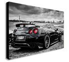 Nissan Skyline GTR Sports Car FAST AND FURIOUS Canvas Wall Art Framed Print.