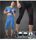 Mens Breathable Wicking outdoor Sports Pants Body Shaper Shapewear