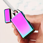 Usb Rechargeable Electric Arc Lighters Personalized Cross Double Pulse Lighter