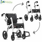 Rollz Motion Dual Use All In One Rollator Walker & Wheelchair - 1 to 4 Colours