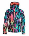 NEW ROXY™  Womens Jetty 10K Snow Jacket Womens Snowboarding Ski