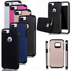 Luxury Armor Cover Case Shockproof Hybrid Rugged Rubber Hard For iPhone &Samsung