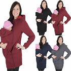 Baby Carrier Jacket Kangaroo Warm Maternity Outerwear Coat for Pregnant Women