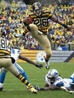 LeVeon Bell Pittsburgh Steelers Jump Football Giant Wall Print POSTER