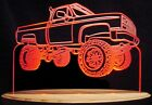 "1985 Chevy Pickup K10 Edge Lit Acrylic Light Up LED Sign 11""-13"" 85 VVD1 USA"