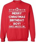birthday jesus sweater - Ugly Merry Christmas Birthday Boy Sweater Happy Birthday Jesus Funny Xmas gift