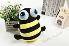 Cute Big-eye Honey Bee Plush Toy Foam Stuffed Insect Doll For Kids