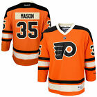 Steve Mason # 35 Reebok Philadelphia Flyers Replica NHL Youth Alternate Jersey