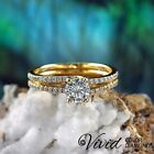 14k Solid Gold Engagement Ring 0.97 CT Diamond SI/I-J Size 6 Jewelry Enhanced