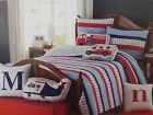 Authentic Kids Emergency Response Crew Full Quilt, Shams & Deco Pillows Set NIP