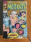 THE NEW MUTANTS #87 (1990) 1ST CABLE!  GOLD 2ND PRINTING!  HIGH GRADE!  9.4 NM