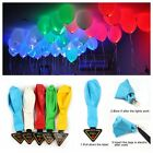 "12"" LED Glow in the Dark Light Up Balloons Christmas Party Decorations Pack Of 5"