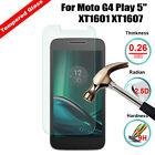 "9H Real Premium Tempered Glass Screen Protector Film For Moto G4 Play 5"" XT1601"
