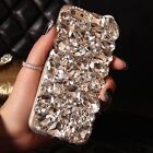 COOL DIAMOND DESIGNER BLING DIAMANTE CASE COVER GIFT IPHONE 5s 6 6S 7 S7 S8 X A3