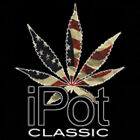 Ipot Classic Smoke Weed Marijuana Freedom USA Patriotic Pot Funny T-Shirt Tee