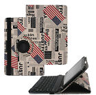 360 Rotating Case Cover Stand with Bluetooth Keyboard for iPad Air Mini 1 2 3 4