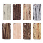 For iPhone5/6 Plus Samsung S7/65+ Retro Wood Style Wooden Bamboo Hard Case Cover