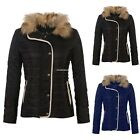 Men Winter Stand Collar Cotton Padded Thick Warm Coat Casual Outwear Warm Jacket