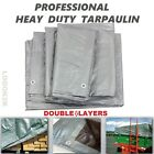 Professional Tarpaulin Extra Heavy Duty Waterproof Cover Roofing Ground Sheet