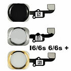 Black / White / Gold Replacement Home Button With Flex For iPhone 6G /6S / 6Plus