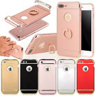 Hybrid Shockproof Hard PC Case Cover Skin Protective Stand With Ring for Apple