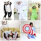 Hot Unisex Adult Pajamas Kigurumi Cosplay Costume Animal Onesie Sleepwear 2016
