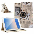 360 Rotating Flip Stand PU Leather Smart Case Cover For Apple iPad MINI 1/2/3 US