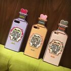 3D Cartoon Cute Love Bottle Soft Silicone Back Case for iPhone 7 6 6S Plus