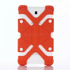 """US For Various 7-8""""Tablet Shockproof Adjustable Silicone Gel Protect Case Cover"""