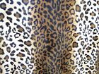 Animal Print Faux Fur Fabric - Sold By Meter