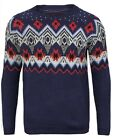 Brand New Ex H M UK Chainstore Mens Jumper Navy XS S M