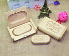 Personalized Oval Wood USB Flash Drive & Box Bundle, Wedding Gifts, Wedding USB