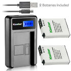 Kastar Battery and LCD Slim USB Charger for Nikon EN-EL12 Coolpix S9900 AW110