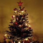 Artificial Christmas Tree Prelit 6 Ft Stand Trees Lights Holiday Tall Pre Lit