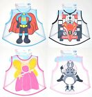 BABY OR TODDLER EVA PLASTIC EASY WIPE COVERALL BIBS 6 MONTHS +