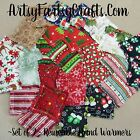 Set of 2 ~ Christmas Hand Warmers - Reusable Microwavable Freezable Rice Bag