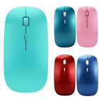 Sottile 2.4 GHz Ottico Wireless Mouse + USB Ricevitore Per Laptop PC Mac WINDOWS
