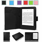 ULTRA THIN LEATHER CASE COVER FOR KINDLE WITH TOUCH (7th Generation 2014) UK