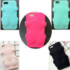 3D Cartoon Tous Bear Soft Silicone Case Cover  For iPhone Samsung Huawei Gift
