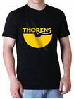 T-SHIRT THORENS - BLACK/NOIR - Gold Print