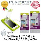 PureGear Tempered GLASS HD Screen Protector For Apple iPhone 8 / 7 / 6S / 6 Plus