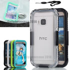Premium Waterproof Shock/ Dirt  Proof Durable Case Cover For HTC One M7/M9